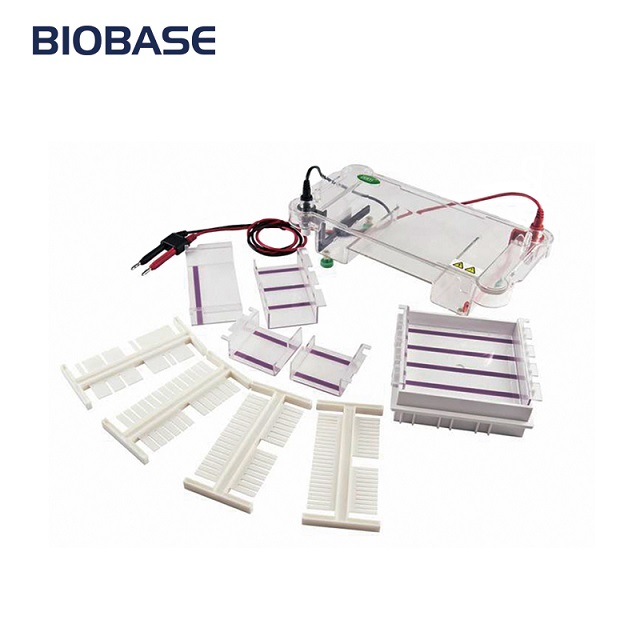 BIOBASE Newest ET-H1 Horizontal Electrophoresis Tank for Lab/Med
