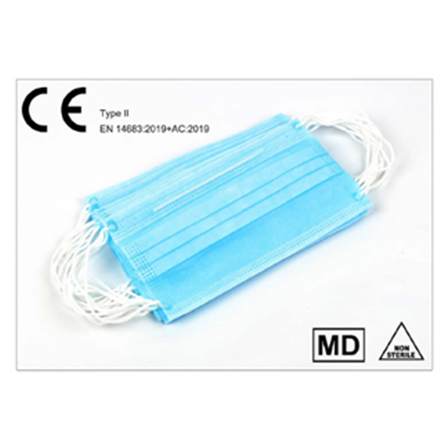 3 Ply Disposable Medical Face Masks with CE